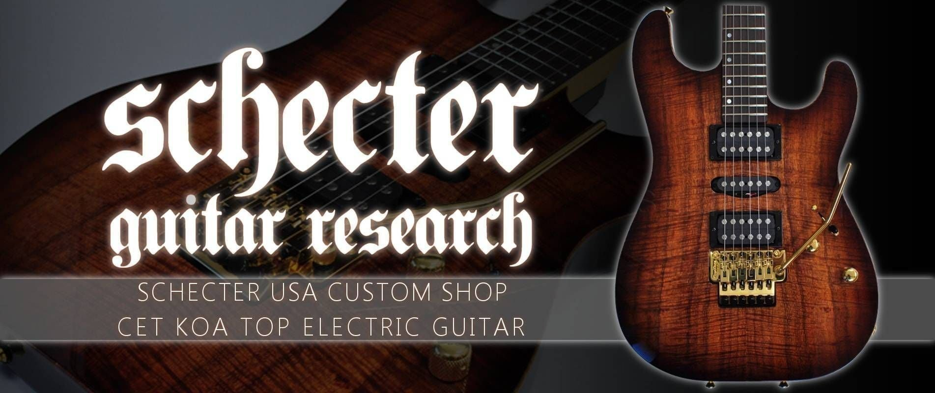 Schecter Guitar USA Custom Shop Electric