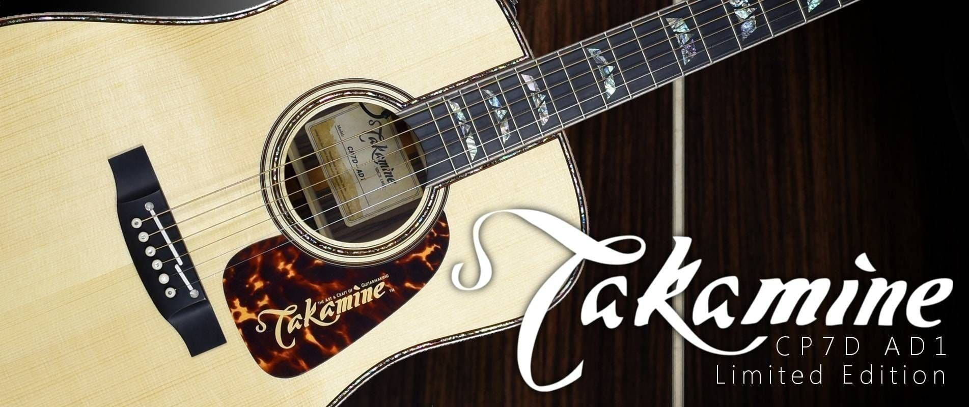 Takamine CP7D Acoustic Limited Guitar