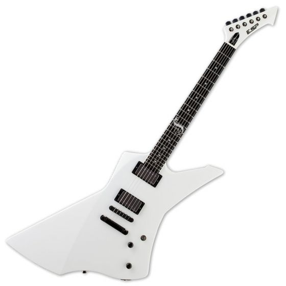 ESP James Hetfield SNAKEBYTE in White with Case