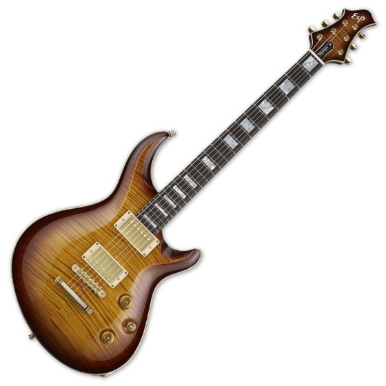 ESP Mystique CTM Original Series Electric Guitar in Tea Sunburst