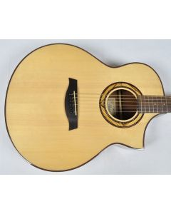 Ibanez AEW23ZW-NT AEW Series Acoustic Electric Guitar in Natural High Gloss Finish