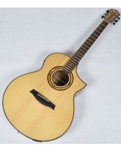 Ibanez AEW23ZW-NT AEW Series Acoustic Electric Guitar in Natural High Gloss Finish AEW23ZWNT