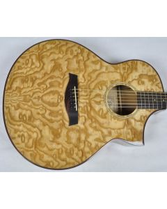 Ibanez AEW40AS-NT AEW Series Acoustic Electric Guitar in Natural High Gloss Finish