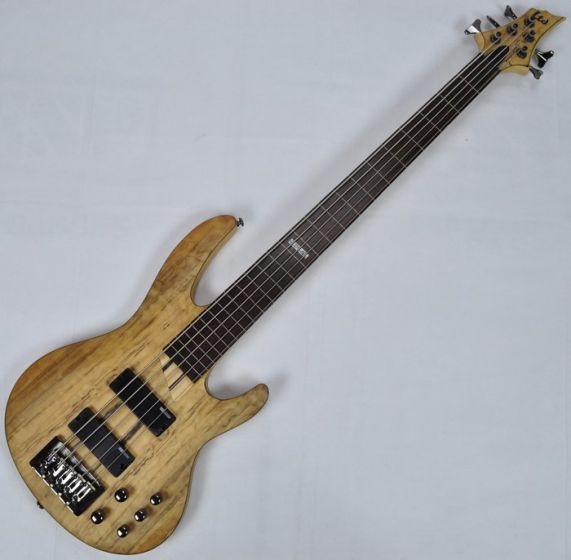 ESP LTD B-205SM Fretless Electric Bass in Natural Satin B-Stock
