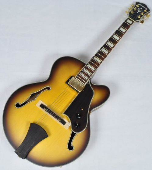 Ibanez AFJ91-AFF ARTCORE Expressionist Hollow Body Electric Guitar in Amber Fade Flat