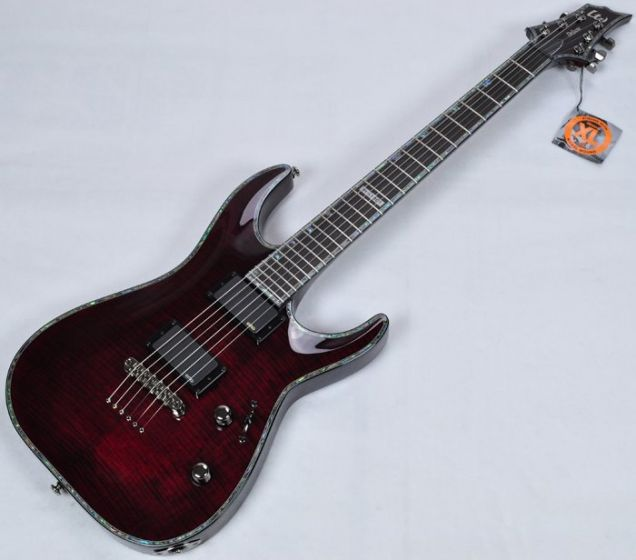 ESP LTD Deluxe H-1001FM See-Thru Black Cherry Electric Guitar B-Stock