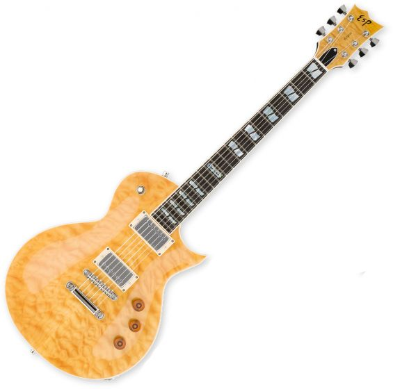 ESP USA Eclipse Electric Guitar in Vintage Natural