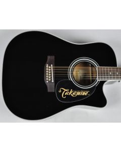 Takamine EF381SC Legacy Series 12 String Acoustic Guitar in Gloss Black Finish