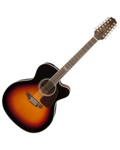 Takamine GJ72CE-12BSB G-Series G70 12 String Acoustic Guitar in Brown Sunburst Finish TAKGJ72CE12BSB