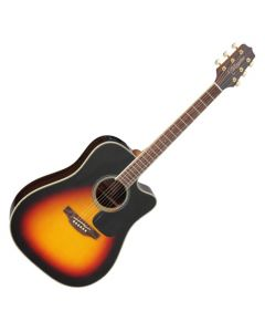 Takamine GD51CE-BSB G-Series G50 Cutaway Acoustic Electric Guitar in Brown Sunburst Finish TAKGD51CEBSB