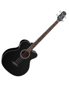 Takamine GB30CE-BLK G-Series Acoustic Electric Bass in Black Finish TAKGB30CEBLK