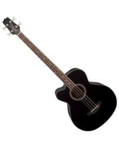 Takamine GB30CELH-BLK G-Series Left Handed Acoustic Electric Bass in Black Finish TAKGB30CELHBLK