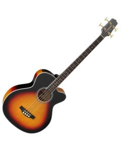 Takamine GB72CE-BSB G-Series Acoustic Electric Bass in Brown Sunburst Finish TAKGB72CEBSB