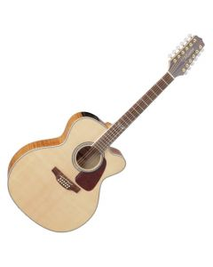 Takamine GJ72CE-NAT G-Series G70 Cutaway Acoustic Electric Guitar in Natural Finish TAKGJ72CENAT