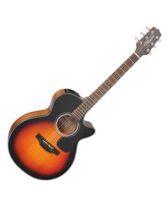 Takamine GF30CE-BSB G-Series G30 Cutaway Acoustic Electric Guitar in Brown Sunburst Finish TAKGF30CEBSB
