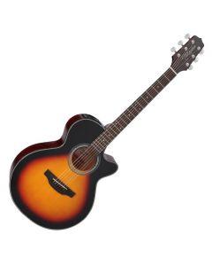 Takamine GF15CE-BSB G-Series G15 Cutaway Acoustic Electric Guitar in Brown Sunburst Finish TAKGF15CEBSB