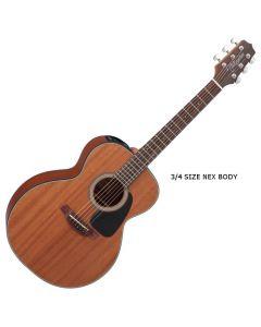 Takamine GX11ME-NS G-Series Mini Acoustic Guitar in Natural Finish TAKGX11MENS