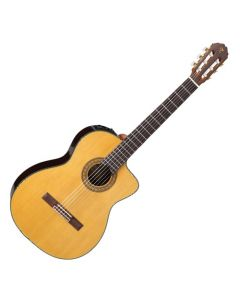 Takamine TC132SC Classical Acoustic Electric Guitar in Natural Gloss Finish TAKTC132SC