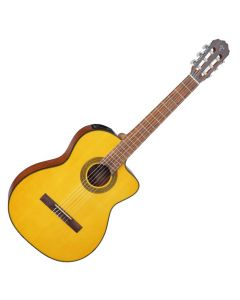 Takamine GC1CELH-NAT Left Handed G-Series Classical Acoustic Electric Guitar in Natural Finish TAKGC1CELHNAT
