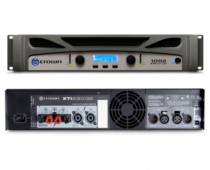 Crown XTi 1002 Two-Channel 500W Power Amplifier