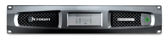Crown Audio DCi 2|300N Two-channel 300W @ 4Ω Power Amplifier with BLU Link 70V/100V
