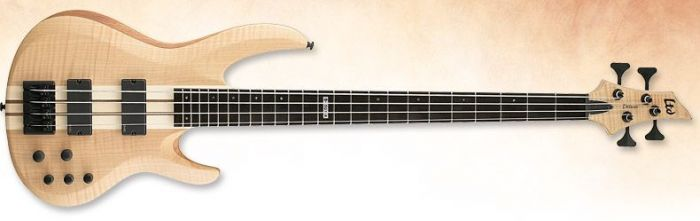 ESP LTD Deluxe B-1004 Bass in Natural Stain