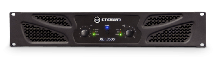 Crown Audio XLi 3500 Two-channel 1350W Power Amplifier
