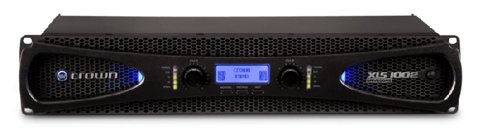 Crown Audio XLS 1002 Two-channel 350W Power Amplifier