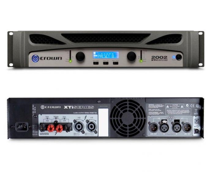 Crown XTi 2002 Two-Channel 800W Power Amplifier