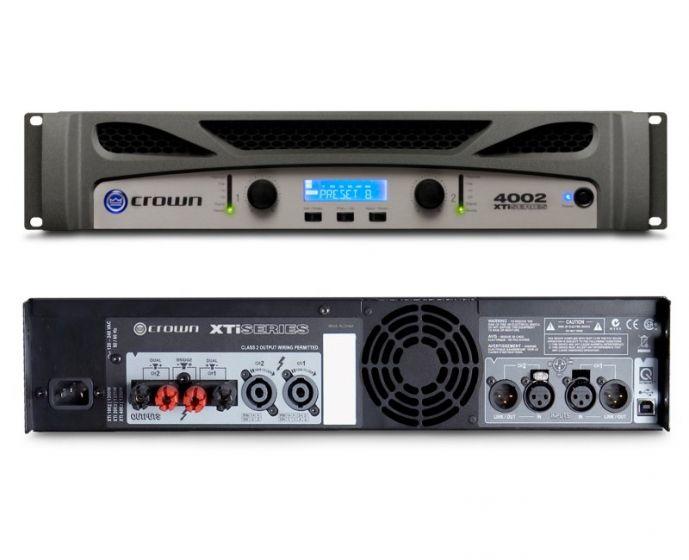 Crown XTi 4002 Two-Channel 1200W Power Amplifier