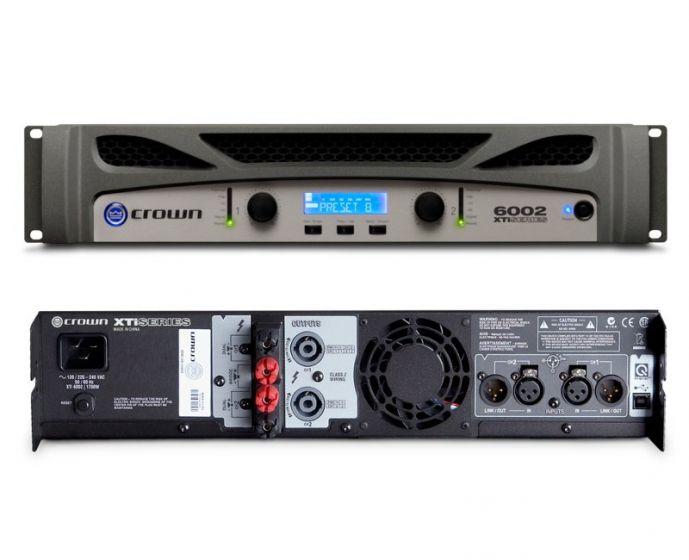 Crown XTi 6002 Two-Channel 2100W Power Amplifier