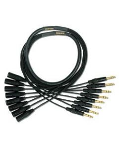 Mogami Gold 8 TRS-XLRM Cable 25 ft. GOLD 8 TRSXLRM-25