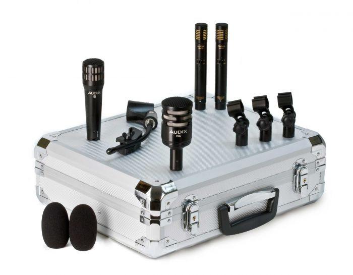 Audix DP-QUAD 4-Piece Drum Mic Package