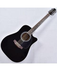 Takamine EF381SC 12 String Acoustic Guitar in Gloss Black B-Stock TAKEF381SC.B