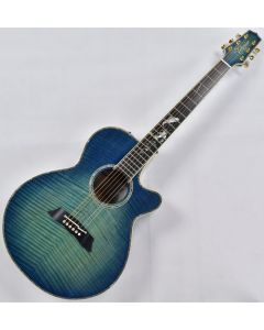 Takamine LTD 2016 Decoy Acoustic Guitar in Green Blue Burst Finish TAKLTD2016DECOY