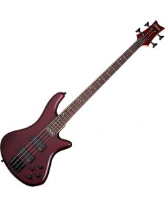 Schecter Stiletto Custom-4 Electric Bass Vampyre Red Satin  SCHECTER2537