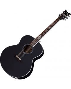 Schecter Signature Synyster Gates SYN J Acoustic Electric Guitar in Gloss Black Finish SCHECTER3703