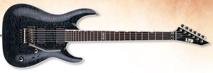 ESP LTD MH-350FR Guitar In See-Through Black