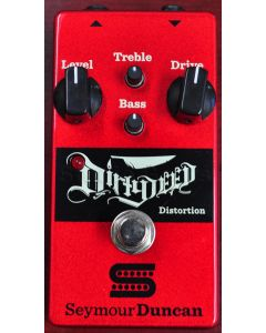 Seymour Duncan Dirty Deed Distortion/Overdrive Guitar Pedal