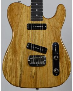 G&L USA ASAT Special Spalted Alder Top Electric Guitar in Natural Gloss Finish
