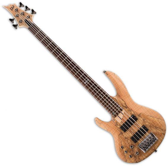 ESP LTD B-205SM Left Handed Electric Bass in Natural Satin