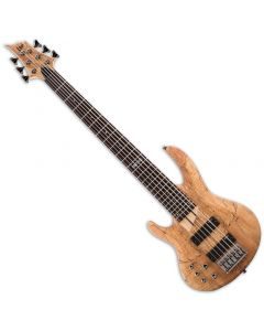 ESP LTD B-206SM Left-Handed Electric Bass in Natural Satin LB206SMNSLH