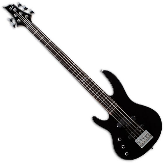 ESP LTD B-55 Left-Handed Electric Bass in Black