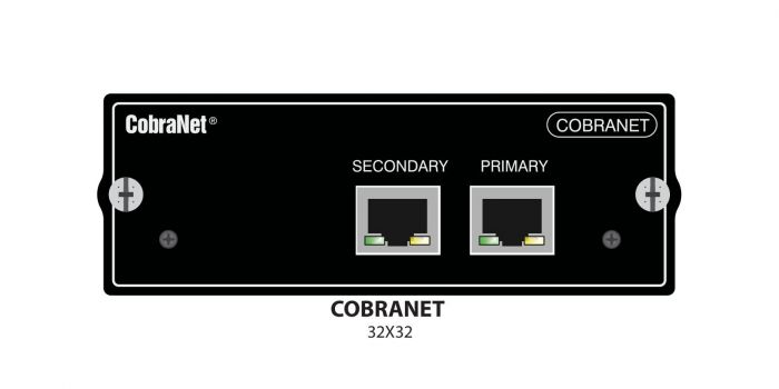 Soundcraft Cobranet 32x32 Card