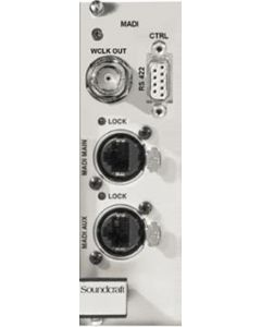 Soundcraft RS2409SP Local Rack ViO/D21 Cat5 MADI Card RS2409SP