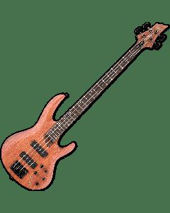 ESP LTD B-1004SE Bubinga Top Electric Bass in Natural Satin B-Stock LB1004SEBNS.B