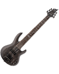 ESP LTD B-206SM Electric Bass in See Thru Black Satin B-Stock LB206SMSTBLKS.B