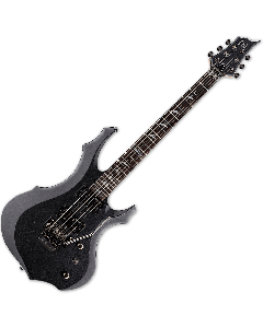 ESP LTD F-200FR Electric Guitar in Charcoal Metallic Finish LF200FRCHM