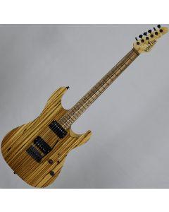 Schecter Masterworks Sunset Custom-II Zebrawood Electric Guitar Gloss Natural SCHECTERMW.SSC2 1207
