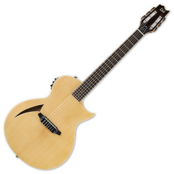 ESP LTD TL-6N Nylon String Acoustic Electric Guitar in Natural Finish